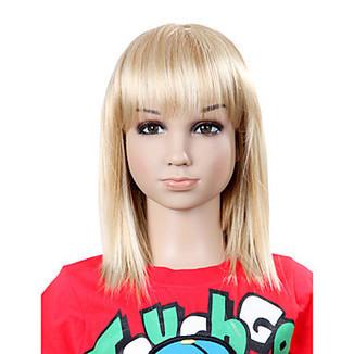 Top Grade Synthetic Sweat Straight Blonde Children's Wig – WigSuperDeal.com | kids wigs | Scoop.it