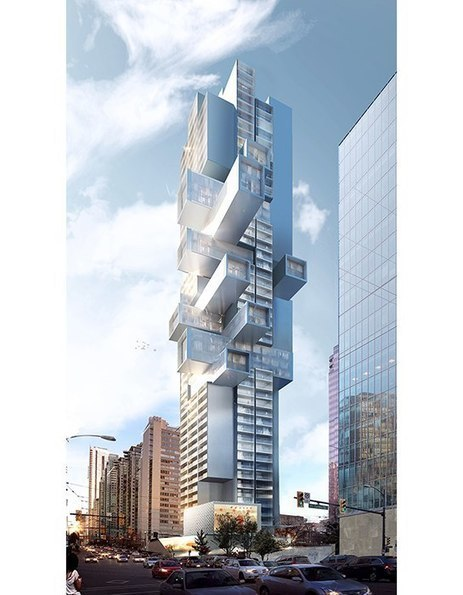 Is Ole Scheeren's latest design an apartment building or a Jenga tower? | D_sign | Scoop.it