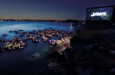 Voir les Dents de la mer, sur une bouée dans l'eau, ça vous dit ? | CRAKKS | Scoop.it