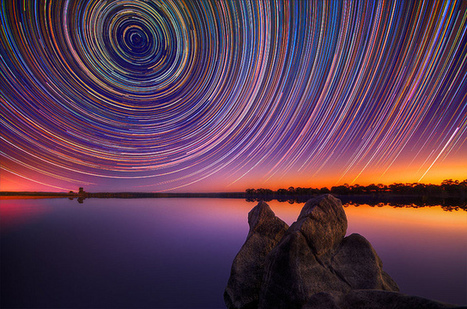 Beautiful Photographs of Star Trails Above Australian Outback | Share Some Love Today | Scoop.it