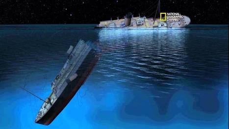 Titanic 100 - New CGI of How Titanic Sank   titanic   Scoop.it