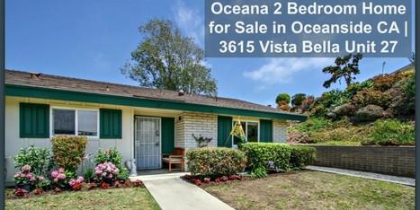 55+ Community 2 Bedroom Home for Sale in Oceanside CA | 3615 Vista Bella Unit 27 | sandiegohomes4u.com | Scoop.it