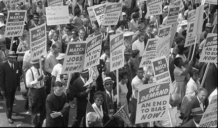 Today in labor history: March on Washington for Jobs and Freedom » peoplesworld   Railway road jobs   Scoop.it