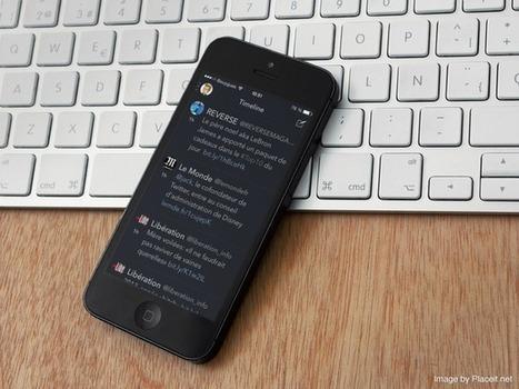 Osfoora 2 : un client Twitter sombre mais sympa ! - Mac in Poche | L'univers de la Pomme | Scoop.it