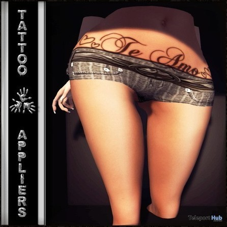 Te Amo Belly Tattoo with Mesh Body Appliers by TAOX TATTOO | Teleport Hub - Second Life Freebies | Second Life Freebies | Scoop.it