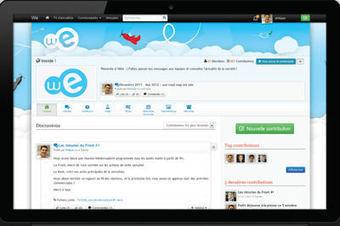 TalkSpirit injecte Facebook et LinkedIn dans son réseau social d'entreprise | Réseaux sociaux et Curation | Scoop.it