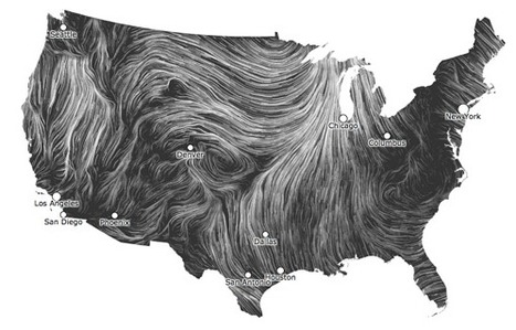 Wind Map | Map@Print | Scoop.it