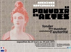 Le Pouvoir en actes, l'exposition aux Archives Nationales - Sortiraparis | Rhit Genealogie | Scoop.it