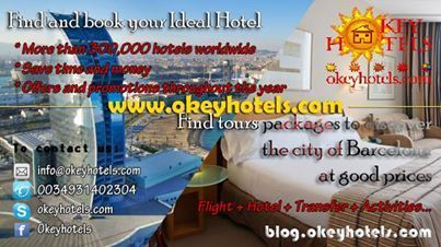 Okeyhotels: Agencia especializada en organizacion de viajes y estancias Barcelona & Marrakech | CoworkERideaS | Scoop.it