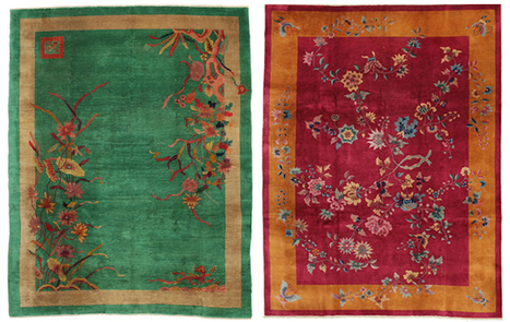 Art Déco - Colorful Antiques   Inspiration and decorating with Handmade carpets   Scoop.it