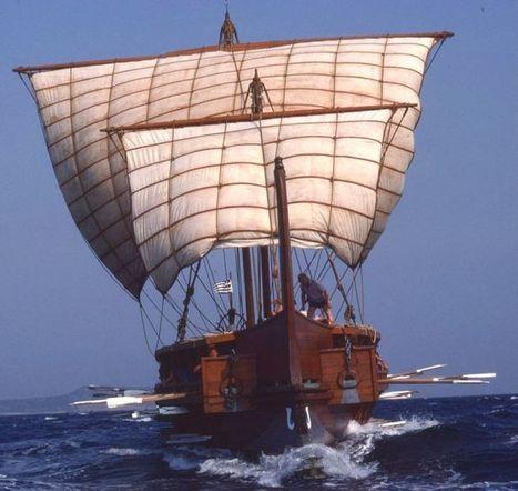 Olimpias, el único trirreme en activo en una marina moderna | LVDVS CHIRONIS 3.0 | Scoop.it