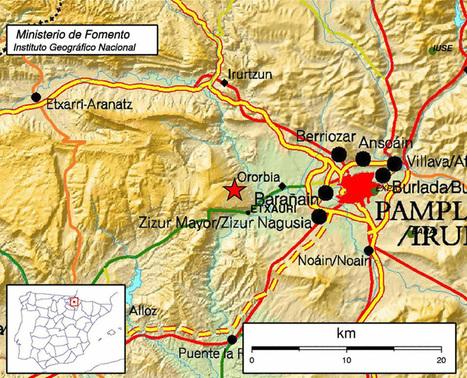 Un nuevo terremoto de 4.1 grados se siente en toda la Comarca de Pamplona | Profesor Biología y Geología | Scoop.it