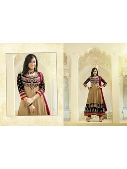 Online Latest Vikruti Beige And Black Georgette Anarkali Suit 9670 -Shweta Tiwari Designer Anarkali Suit Collection at skbmart.com, Shweta Tiwari in Anarkali Long Suits Beautiful Dress, Shweta Tiwa... | Home and Kitchen Appliances | Toaster | Mixer Grinder | Juicer Mixer Grinder | Hand Blaender | Scoop.it