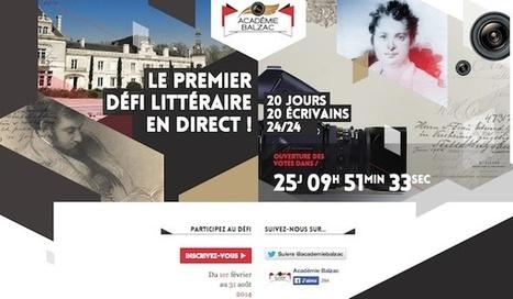 Lancement de l'Académie Balzac, première télé-réalité littéraire française | Cabinet de curiosités numériques | Scoop.it