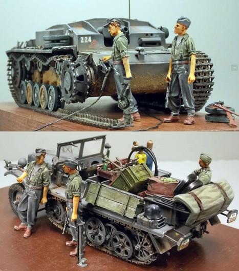 German Assault Gun Team StuG | Military Miniatures H.Q. | Scoop.it