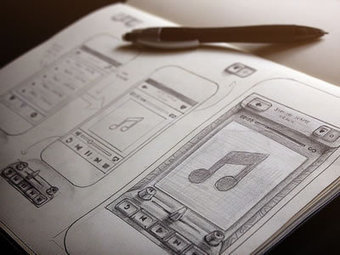 Inspiring Wireframe Sketches | Inspiration | Basics and principles for a good  Web Design | Scoop.it