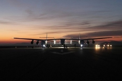 SpaceShipTwo Powered Flight No. 3: A Photo Essay | Parabolic Arc | STEM Connections | Scoop.it
