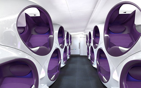 Could pod seats be the future of air travel? - Telegraph | KLM | Scoop.it