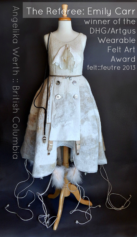 DHG/Artgus Wearable Felt Art Award | felt::feutre | Felt | Scoop.it