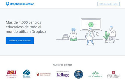 Dropbox Education, nueva solución específica de Dropbox para instituciones…   Tecnologías educativas XXI   Scoop.it