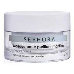 Masque boue purifiant matifiant - Zinc et cuivre de Sephora sur Sephora.fr | Idées cadeaux Capi | Scoop.it