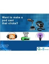 How to Create Your Own Podcast?   Podcast transcription services   Scoop.it