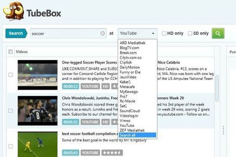 TubeBox, software gratuito para descargar vídeo y audio de múltiples sitios | edición de vídeo | Scoop.it