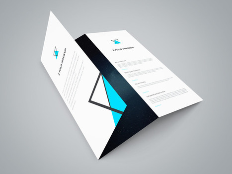 15+ High Quality Free Flyer and Brochure Mock-ups & Templates | Design, social media and web resources | Scoop.it