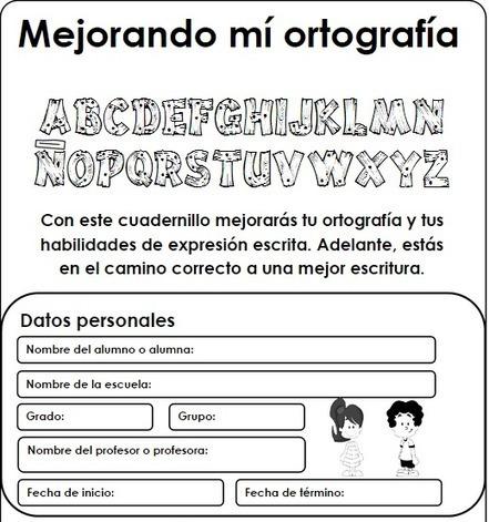 Ejercicios para mejorar la ortografía. | Aprendizaje Y Apoyo Escolar fuera del Aula | Scoop.it