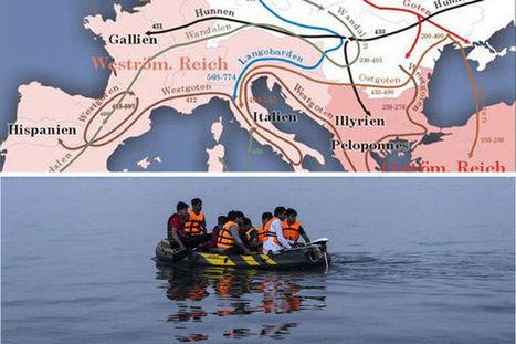 'Waarom de huidige vluchtelingencrisis niet te vergelijken is met de val van het Romeinse rijk' | De Klassieke Oudheid | Scoop.it