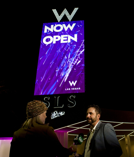 W Hotels Worldwide logo lights up Las Vegas | HOTEL INVESTMENT NEWS | Scoop.it