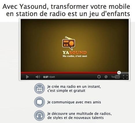 Yasound : votre radio en mode réseau social | Radio 2.0 (En & Fr) | Scoop.it