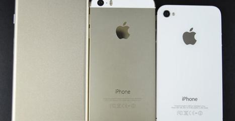 iPhone 6 : Nouvelle photo des futurs smartphones Apple au design ... - meltyStyle | Télephonie mobile et nouvelles technologies | Scoop.it