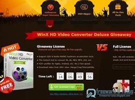 Offre promotionnelle : WinX HD Video Converter Deluxe gratuit pour Halloween ! | Freewares | Scoop.it