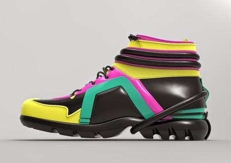 Avant-première : Les chaussures du défilé Haute Couture de Julien Fournié | FashionLab | Scoop.it