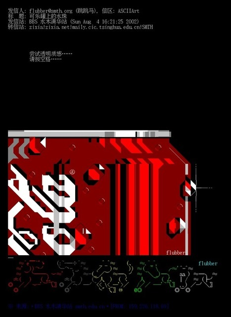 Chinese ANSI by Flubber. | ASCII Art | Scoop.it