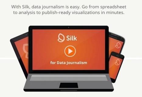 Silk para periodistas se abre al público, para crear infografías a partir de datos | Edutec | Scoop.it
