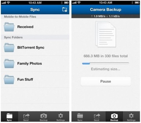 BitTorrent Launches Dropbox-Like File Syncing App For iPhone - Cult of Mac | Sync services | Scoop.it