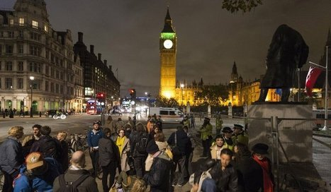 Protest group Occupy give London police the runaround outside parliament | Twitter Hashtags | Scoop.it