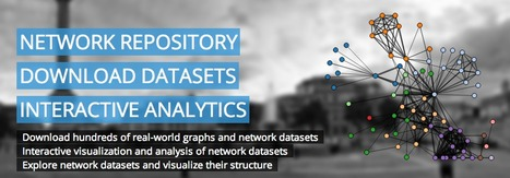 The First Interactive Network and Graph Data #Repository with Interactive Graph Analytics and Visualization | #opendata #SNA | Public Datasets - Open Data - | Scoop.it