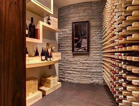 Inspiring Wine Cellar Designs | Designing Interiors | Scoop.it
