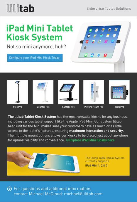 iPad Mini Kiosk System   Tablets POS Retail Self-Service   Scoop.it