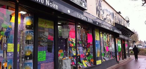 Cette librairie affiche en vitrine les avis de ses clients | BiblioLivre | Scoop.it