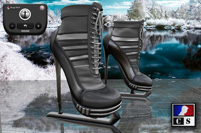 CS Design - Ice Skates M02 Black | Antonio Galvez | Scoop.it
