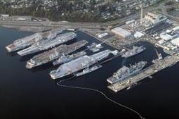 Un projet de pont constitué de deux anciens porte-avions américains   Architecture   Scoop.it