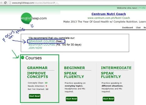 Learn English Grammar Online | Englishleap | Scoop.it