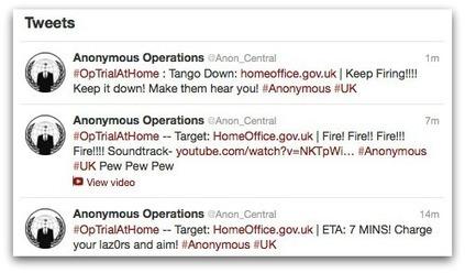 Anonymous attacks UK Prime Minister and Home Office websites with DDoS assault | Sécurité informatique et cyber-criminalité | Scoop.it