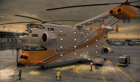 The Hotelicopter: Redefining Luxurious Travel Like Never Before | Engineering Innovation | Scoop.it