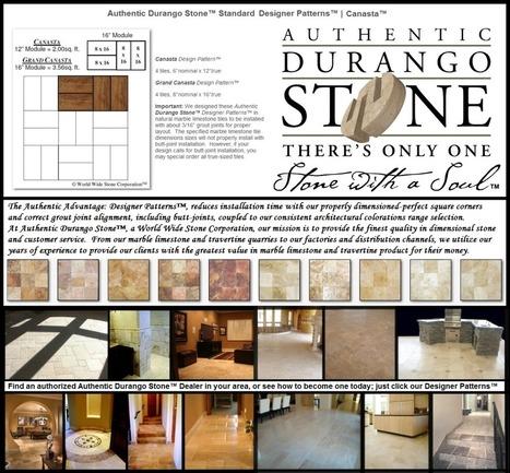 2 of 13 Arizona Travertine Tile Flooring Design Patterns Series | Natural Stone Travertine Tiles | Scoop.it