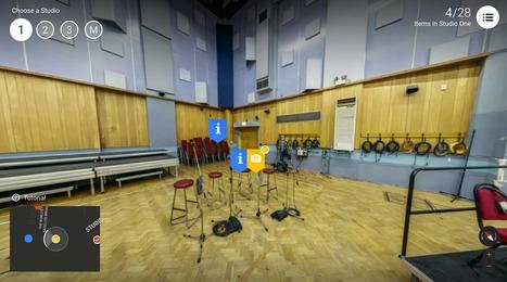 Google presents Inside Abbey Road | Interactive & Immersive Journalism | Scoop.it
